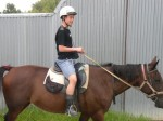 2月21日(金)のA組の乗馬の様子です。