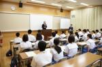 平成26年度体験入学<甘木中学校>【5】