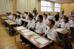 平成26年度体験入学<甘木中学校>【7】