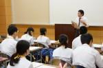 平成26年度体験入学<甘木中学校>【22】