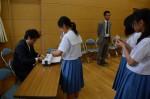 平成26年度体験入学<甘木中学校>【36】