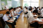 平成26年度体験入学<甘木中学校>【40】