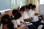 平成26年度体験入学<二日市中・春日北中>【26】