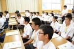 平成26年度体験入学<春日中学校>【6】