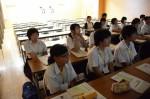 平成26年度体験入学<春日中学校>【11】