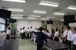 平成26年度体験入学<春日中学校>【13】