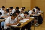 平成26年度体験入学<春日中学校>【35】