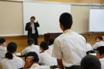 平成26年度体験入学<春日中学校>【64】