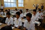 平成26年度体験入学<春日野中学校>【7】