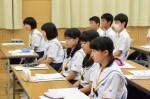 平成26年度体験入学<春日野中学校>【8】