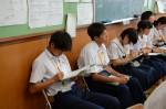 平成26年度体験入学<春日野中学校>【36】