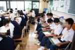 平成26年度体験入学<春日野中学校>【42】