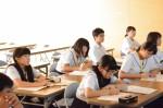 平成26年度体験入学<春日野中学校>【58】