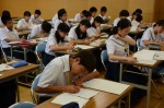 平成26年度体験入学<春日野中学校>【61】