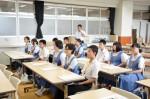 平成26年度体験入学<那珂川南中学校>【6】
