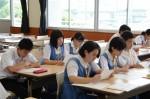 平成26年度体験入学<那珂川南中学校>【24】