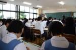 平成26年度体験入学<那珂川南中学校>【40】