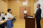 平成26年度体験入学<南陵中学校>【4】