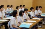 平成26年度体験入学<南陵中学校>【8】