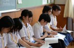 平成26年度体験入学<南陵中学校>【23】