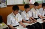 平成26年度体験入学<南陵中学校>【24】