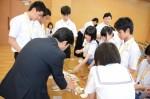 平成26年度体験入学<南陵中学校>【41】