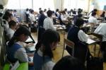 平成26年度体験入学<御陵中・春日南中・板付中>【28】