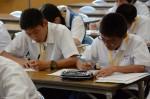 平成26年度体験入学<春日東中学校>【30】