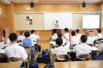 平成26年度体験入学<春日東中学校>【35】