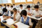 平成26年度体験入学<春日東中学校>【37】