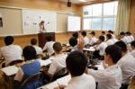 平成26年度体験入学<春日東中学校>【39】