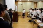 平成26年度体験入学<三国中学校>【7】