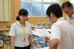 平成26年度体験入学<三国中学校>【30】