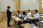 平成26年度体験入学<東光中学校>【3】