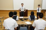 平成26年度体験入学<東光中学校>【4】