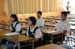 平成26年度体験入学<東光中学校>【7】