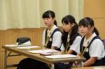 平成26年度体験入学<横手中学校>【6】