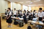 平成26年度体験入学<横手中学校>【10】