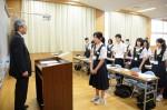 平成26年度体験入学<横手中学校>【11】