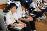 平成26年度体験入学<横手中学校>【30】