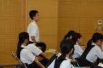 平成26年度体験入学<横手中学校>【61】