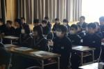 平成26年度体験入学<杷木中学校>【11】