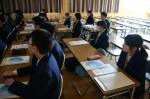平成26年度体験入学<平野中学校>【26】