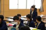 平成26年度体験入学<平野中学校>【61】