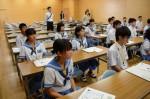 平成27年度体験入学<夜須中学校>【7】