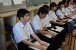 平成27年度体験入学<夜須中学校>【23】