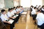 平成27年度体験入学<夜須中学校>【24】