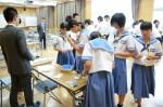 平成27年度体験入学<夜須中学校>【45】