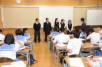 平成27年度体験入学<夜須中学校>【46】