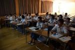 平成27年度体験入学<夜須中学校>【56】